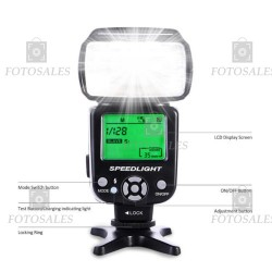 Flash Blitz K&F model KF570 II flash manual pentru Canon Nikon etc. ( Cod: FKF570II )